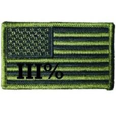 American Flag III% subdued