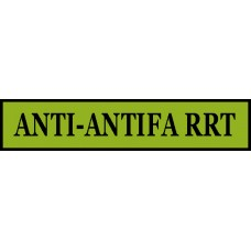 ANTI-ANTIFA RRT 5X1 Inch