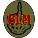F**K BLM 3x4 inch oval