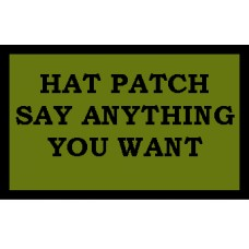 Front Hat Patch 3X2 Subdued