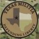 Texas Militia Defending Liberty 3 inch round