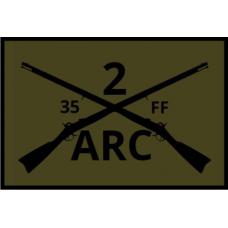 WV 2 ARC 3x2 inch subdues