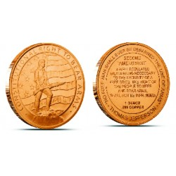 1 Oz. 2nd Amendment Copper Coins