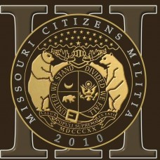 Missouri Citizen Militia 6 inch Window Decal