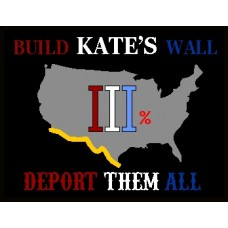 Build Kate's Wall 6x4.5 inch Window Decal