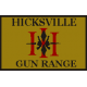 Hicksville Gun Range Hat III Patch