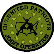III United Patriots Joint Ops 3 inch round