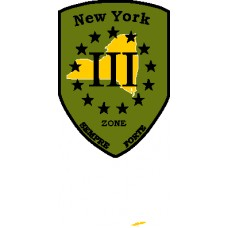 III UNITED PATRIOTS NY County Patch 3 inch by 4 inch