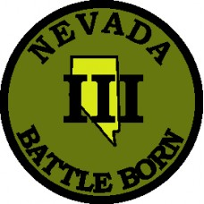 Nevada III% State Patch 3 inch round