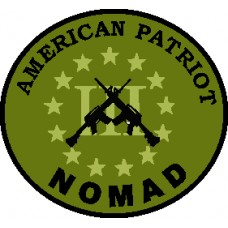 American Patriot Nomad 3 inch round Subdued