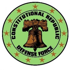 Constitutional Republic Defense Force shoulder patch
