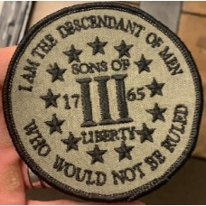 Kentucky Sons of Liberty shoulder patch