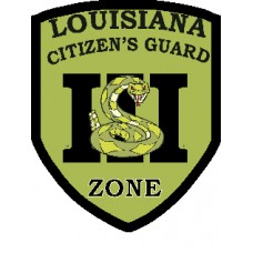 Louisiana State Patch-3-4x3