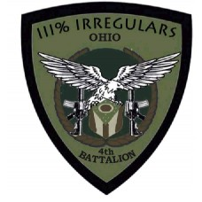Ohio Irregulars Patch 3 inch by 4 inch