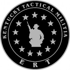 Kentucky ERT Tactical Militia Patch Sold with permission only to qualified personnel.