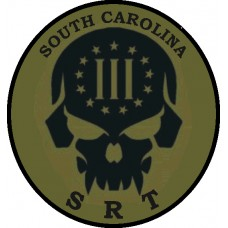 South Carolina SRT Tactical Militia Patch