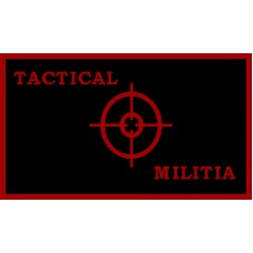 Tactical Militia Flag Patch