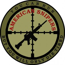 American Snipers 3.5 inch patch