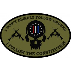 Follow The Constitution  patch