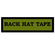 Custom Back Hat Patch Tape 3X1