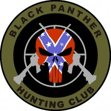 Black Panther Hunting Club 3.5 inch patch