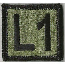 Training Level Patch 1.5 by 1.5 inches