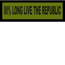 Custom Long Live The Republic
