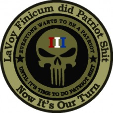 LaVoy Finicum-Be A Patriot 3.5 inch round