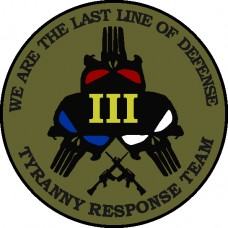 Last Line of Defense 3.5 inch patch