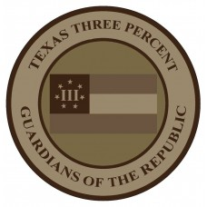 The Official Texas III%-Flag