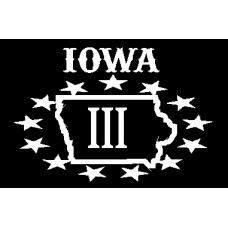 Iowa III% Hat Patch