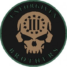 Unforgiven Brothers  DECAL 6 inch