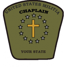 Chaplains Patch UNITED STATES Militia