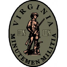 Virginia Minute Men Oval Militia Patch