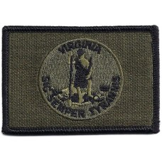 Virginia Flag OD  Patch